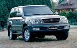 The Lexus LX 470 (1998)