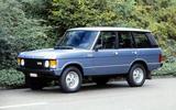 The Range Rover goes four door