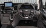 New Ford Transit: Interior
