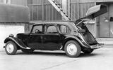 HATCHBACK: Citroen Traction Avant (1939)