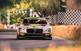 Bentley Continental GT3 Blackpain racer at Goodwood