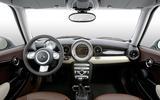 Mini – central speedometer