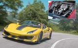 Ferrari 488 Pista: 182.0bhp/litre