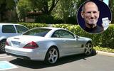 Steve Jobs - Mercedes SL55 AMG