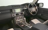 Range Rover Mk3 (2002) - interior