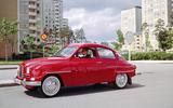 An old Saab