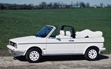VW Golf Cabrio Mk1 (400,871)