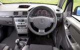 Vauxhall Meriva VXR - interior