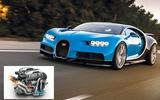 Bugatti Chiron: 185.0bhp/litre