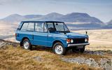 1970: Range Rover