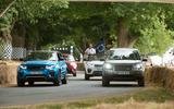 Land Rover 70th Birthday parade