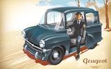 1955 PEUGEOT 103 – 'PEUGEOT 1007'