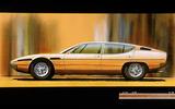 Lamborghini Espada four-door (1973)