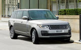 Range Rover plug-in hybrid 2017 - static front