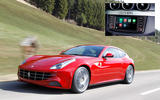 APPLE CARPLAY: Ferrari FF (2014)