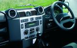 Land Rover Defender (1982-2016) - interior