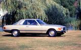Mercedes-Benz SL (R107, 1971-1989) – 18 YEARS