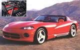 Dodge Viper: 8.4 litres