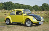 Drive a rear-engined Volkswagen Beetle