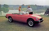 MGB rubber-bumper (1974)