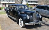 POWER WINDOWS: Packard Custom Super Eight One-Eighty (1940)