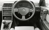 Alfa Romeo 164 Q4 (1993-1998) - interior