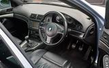 BMW E39 M5 (1998-2003) - interior