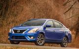 Nissan Versa – 2404lb (1075kg)