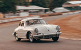 The Porsche 356 takes to the hill