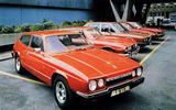 Reliant Scimitar GTE - then