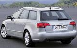 Audi A4 - then