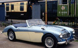 57. 1955 Austin Healey 100M (UP 1)