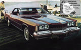 AIRBAGS: General Motors range (1973)