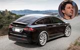 Sergey Brin - Tesla Model X