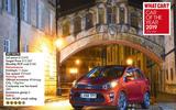Overall City Car winner: Kia Picanto 1.25 3
