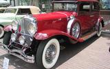 1920s: Duesenberg Model J: 119mph (191km/h)