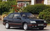 Peugeot 309 GTi – 71 on the road