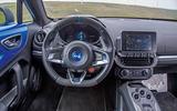 1: Alpine A110: dashboard