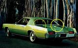 HIGH LEVEL STOP LIGHTS: Oldsmobile Toronado (1971)