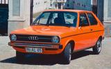 Audi 50 (1974) – 2 models