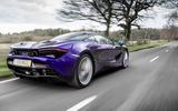McLaren 720S: 177.8bhp/litre