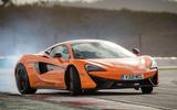 16: McLaren 570S: 1min 8.70secs