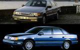 HEATED FRONT WINDSCREEN: Ford Granada/Scorpio, Ford Taurus, Mercury Sable (1985)