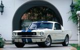 The first Shelby Mustang (1965)