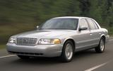 Body-on-frame US passenger car: Ford Crown Victoria, 2011