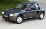 15: Peugeot 205 Turbo 16 (1985)