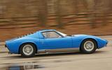 1960s: Lamborghini Miura: 175mph (280 km/h)