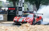 Antonio Giovinazzi's Ferrari 488 GTE