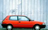 Toyota Corolla hatch - side