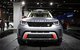 This is the new Land Rover Discovery SVX